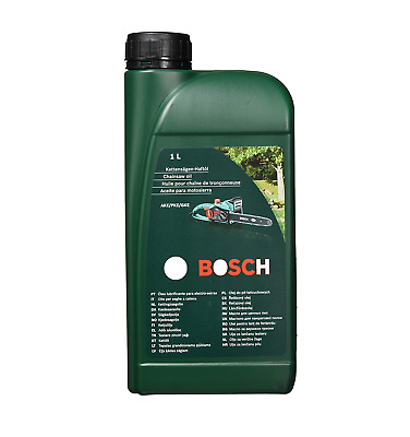 £9.89 • Buy Bosch 2607000181 Chainsaw Oil For Bosch AKE Chainsaws, Biodegradable - 1L