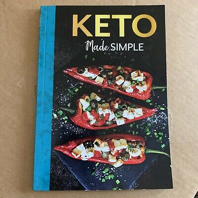 $6 • Buy NEW! Keto Made Simple Recipe Cookbook With Pictures 79 Pages