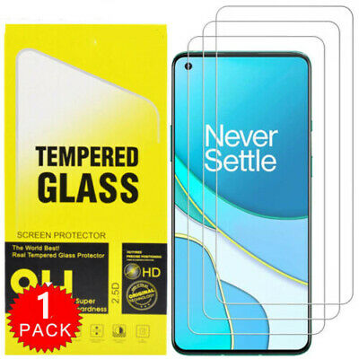 AU4.69 • Buy For OnePlus 8T / 8T+ Plus 5G HD-Clear Tempered Glass Screen Protector