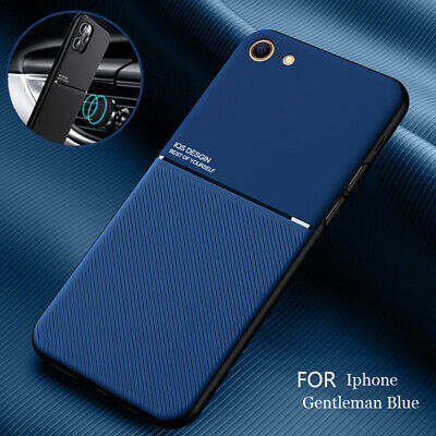 AU10.59 • Buy IPhone 12 Pro Max 12 Mini 11 XS 8 7 SE Metal PU Leather Hybrid Phone Case Cover
