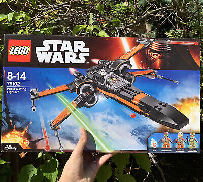 AU72 • Buy Lego Star Wars 75102 - Poe's X-wing Fighter - Brand New Sealed In Box - Retired