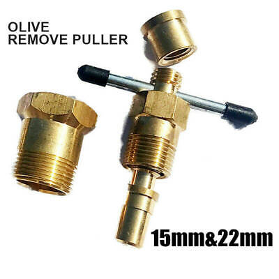 £11.84 • Buy Plumbers Olive Puller Removal Gas Pipe Plumbing Remover Tool 15-22mm Fitting BU