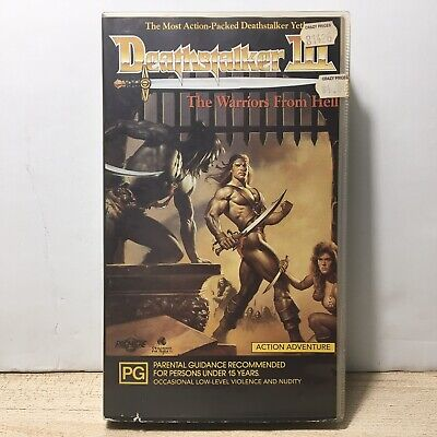 AU40 • Buy Deathstalker III The Warriors From Hell Vhs Movie 1988 Rare