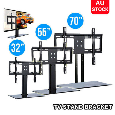 AU35.99 • Buy 14-75inch Table Top Desktop TV Mount Stand Bracket Monitor LCD LED Plasma AU