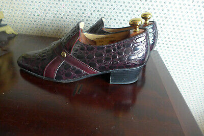 Mens Shoes Size 8 - By Sanders -  Quality Hand Made In UK • 59.95£