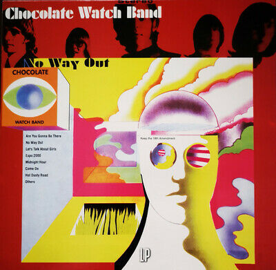 Chocolate Watch Band – No Way Out 180 Gram VINYL LP Psychedelic Garage • 12.99£