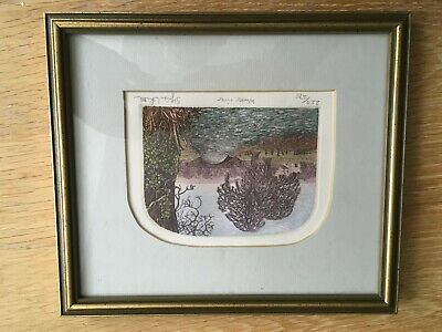 Signed / Limited Edition Stephen Whittle Print / Etching - Winter River • 14.99£