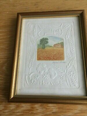 Signed Stephen Whittle Print / Etching - Harvest • 9.99£