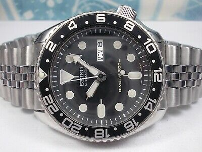 $ CDN174.43 • Buy Seiko 200m Scuba Divers Skx007 Day/date Auto Mens Watch 7s26-0020 (sn 9n1542)
