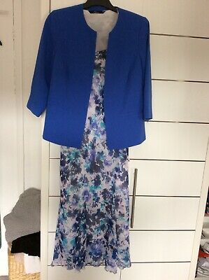 Dress And Jacket Size 10 Worn Once For A Wedding . Perfect Condition • 18£