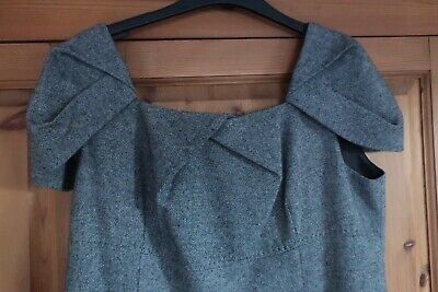 Marks And Spencer Autograph Wool Blend Workwear Dress. UK Size 16 • 4£