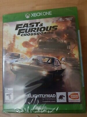XBOX ONE Fast And Furious: Crossroads Game Racing Brand New & Sealed Region Free • 22.99£