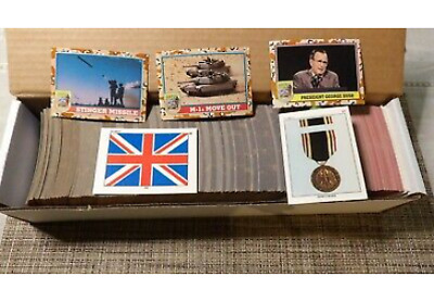 $0.99 • Buy 1991 Topps Desert Storm Series 3 Complete Your Set Buy 4 Or More 25% Off