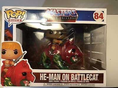 $32.99 • Buy Masters Of The Universe He-Man On Battle Cat Pop! #84