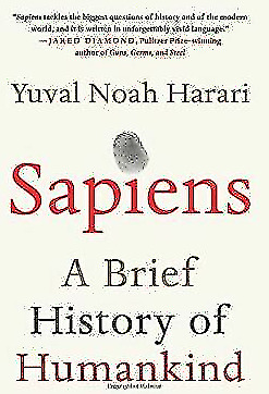 AU3.92 • Buy Sapiens: A Brief History Of Humankind By Yuval Noah Harari