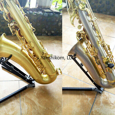 AU43.25 • Buy Saxophone Stand Foldable Portable Tenor Sax Display Stand Holder Heavy Duty NEW