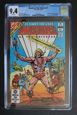 $75 • Buy Masters Of The Universe #1 DC Comics 1982 HE-MAN Sony Movie Reboot CGC NM 9.4