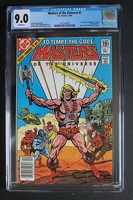 $79 • Buy Masters Of The Universe #1 DC Comics 1982 HE-MAN Movie Canadian Variant CGC 9.0