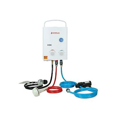 £185.97 • Buy Camplux 5L 1.32 GPM Outdoor Portable Propane Gas Tankless Water Heater New
