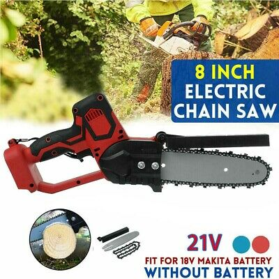 Cordless Electric Chainsaw Chain Cutting Tools For Makita Battery Saw Garden UK • 46.42£