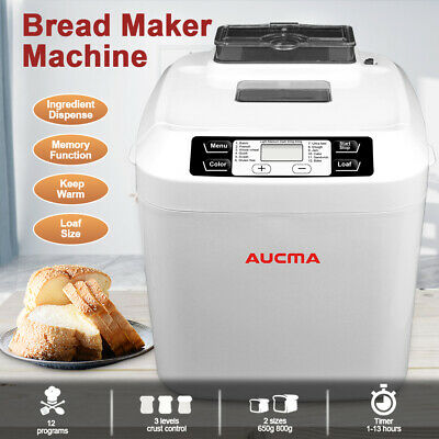 View Details Bread Maker Electric Bread Making Machine 12 Programmes 550W 2L Breadmaker LCD • 79.99£