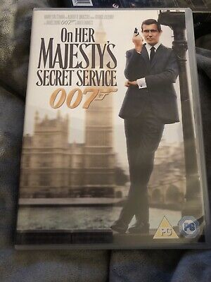 On Her Majesty's Secret Service [DVD] [1969] - UK PAL • 0.99£