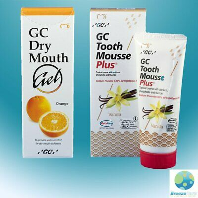 AU42.45 • Buy GC Recaldent Tooth Mousse & Dry Mouth Gel
