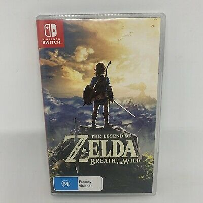 AU71.99 • Buy The Legend Of Zelda: Breath Of The Wild For Nintendo Switch (& Lite) - Complete