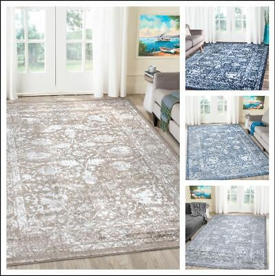 A2Z Rug Traditional Vintage Style Distressed Floral Living Dining Room Area Rugs • 67£