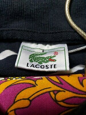 Womens Lacoste Size 8 Polo  • 5£