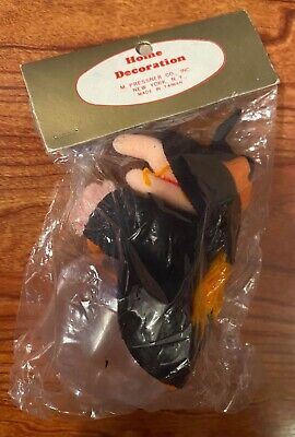 $ CDN39.58 • Buy Vintage Halloween Witch Candy Container - M. Pressner Unused 1970s Taiwan