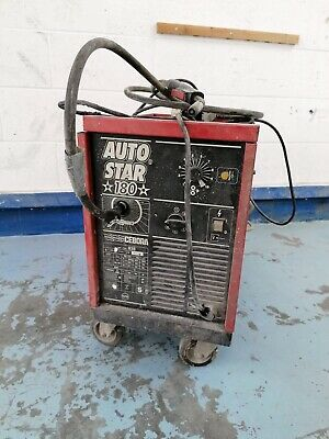 Mig Welder Cebora 180 Auto Star 240 Volt, Used Condition Still Working Fine  • 200£
