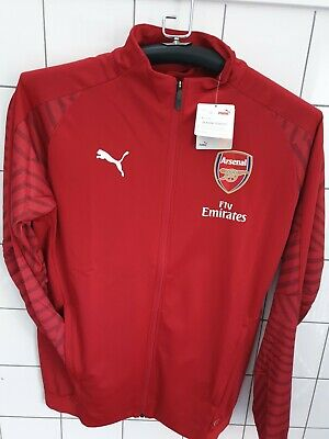 Arsenal Stadium Jacket Puma Red Large New With Tags • 23£