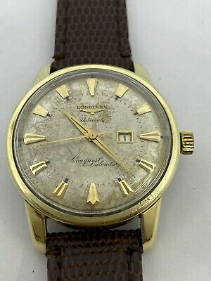 $ CDN13.21 • Buy Vintage Longines Conquest Calendar Fully Serviced Ref 9007-2