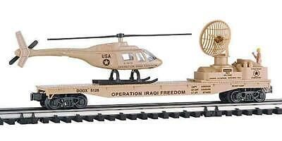 $59 • Buy K-line Trains -k-691-8030 Iraqi Freedom Flat Car W/helicopter  0/027- Boxed - A2