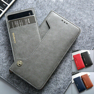 $ CDN12.44 • Buy Samsung Note 20 Ultra S20 Fe S10+ S9 S8 Magnetic Flip Leather Wallet Case Cover