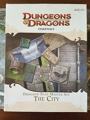 AU52 • Buy Dungeons And Dragons - Dungeon Tiles Master Set: The City (D&D, 4th Ed.)