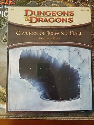 AU48 • Buy Dungeons And Dragons - Tile Set: Caverns Of Icewind Dale (D&D, 4th Ed.) - Sealed