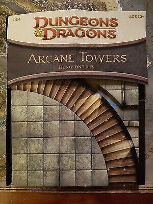 AU30 • Buy Dungeons And Dragons - Dungeon Tile Set: Arcane Towers - Opened/punched