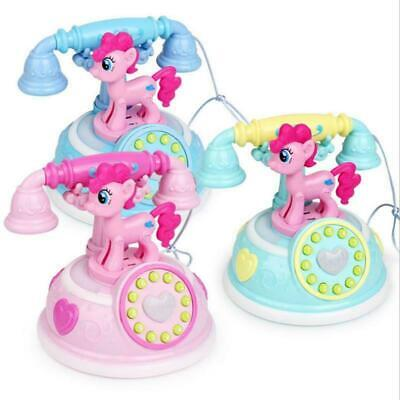 AU18.81 • Buy Musical Toys For Girls Age 2 3 4 5 6 7 8 Year Old Kids Phone Pony Children Gift