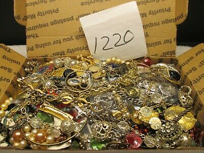 $ CDN52.25 • Buy Large Vintage To Now Estate Find Jewelry Lot,  JUNK DRAWER  Unsearched Untested