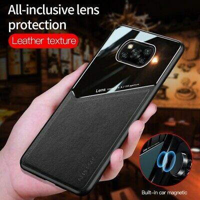 $ CDN6.31 • Buy For Xiaomi Poco X3 NFC Luxury Magnetic Hybrid Leather Acrylic Camera Case Cover
