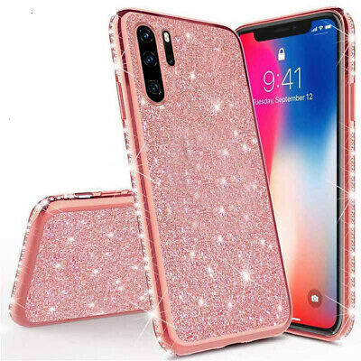 Bling Case For Huawei P20 P30 P40 Lite Mate 20 Honor 30 Pro 30s Soft Back Cover • 3.39£