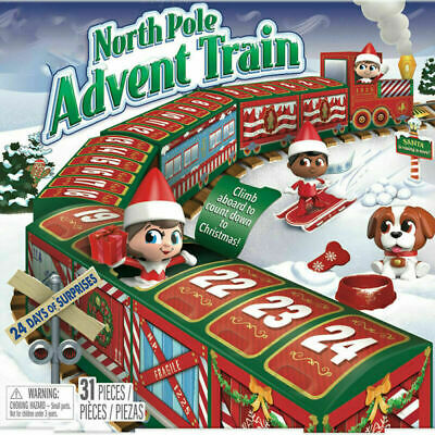 AU19.99 • Buy Elf On The Shelf North Pole Advent Train Best Christmas Gift For Kids