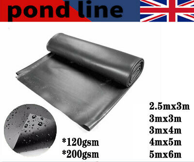 £18.99 • Buy Garden Fish Pond Liners Liner Pool HDPE Membrane Reinforced Landscaping 5 Sizes