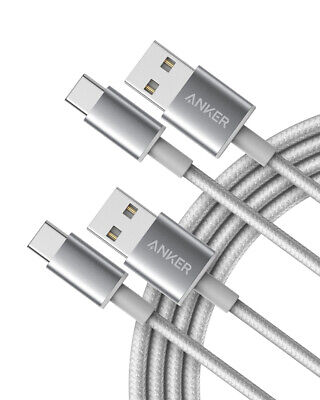 AU13.32 • Buy Type C USB White  Anker 3.3FT [ 1 METER ] Nylon Braided Charging Cable
