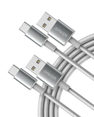 AU20.27 • Buy Type C USB White  Anker 10 FT [ 3 METER ] Nylon Braided Charging Cable