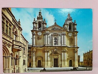 Malta Midna Cathedral Postcard  • 1.20£
