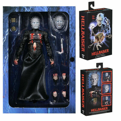 NECA Hellraiser Action Figure  Ultimate Pinhead Collectable Toy 18cm+2 Postcards • 33.95£