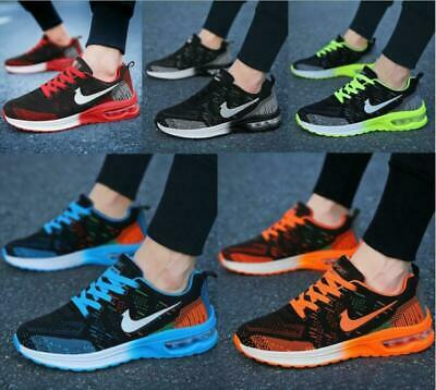 Mens Womens AIR MAX Sports Running Gym Shoes Trainers  Breathable Sneakers • 15.59£